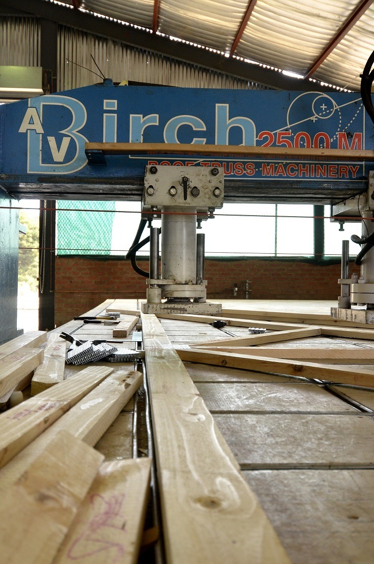 In a bid to streamline its fabrication process, LCP Roofing purchased and imported a Hydraulic Birch Press in 2011. In order to increase production and capacity, a second press was purchased in February 2013.
