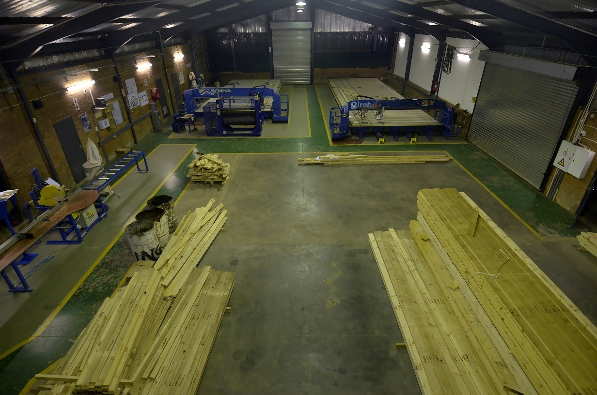 In the event that the roof is of a regular design with ceilings, timber from LCP Roofing's stockpile is utilised and the manufacturing of the timber trusses is scheduled accordingly. All timber used by LCP Roofing is sourced from highly reputable timber mills, who ensure that their supply is strictly from sustainable resources.